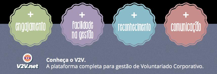 V2V - plataforma completa para gestão de voluntariado corporativo