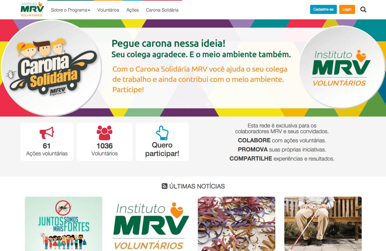 Portal MRV Voluntário
