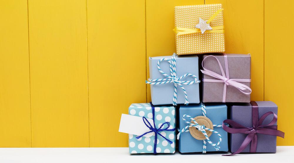 sacolinha de presentes