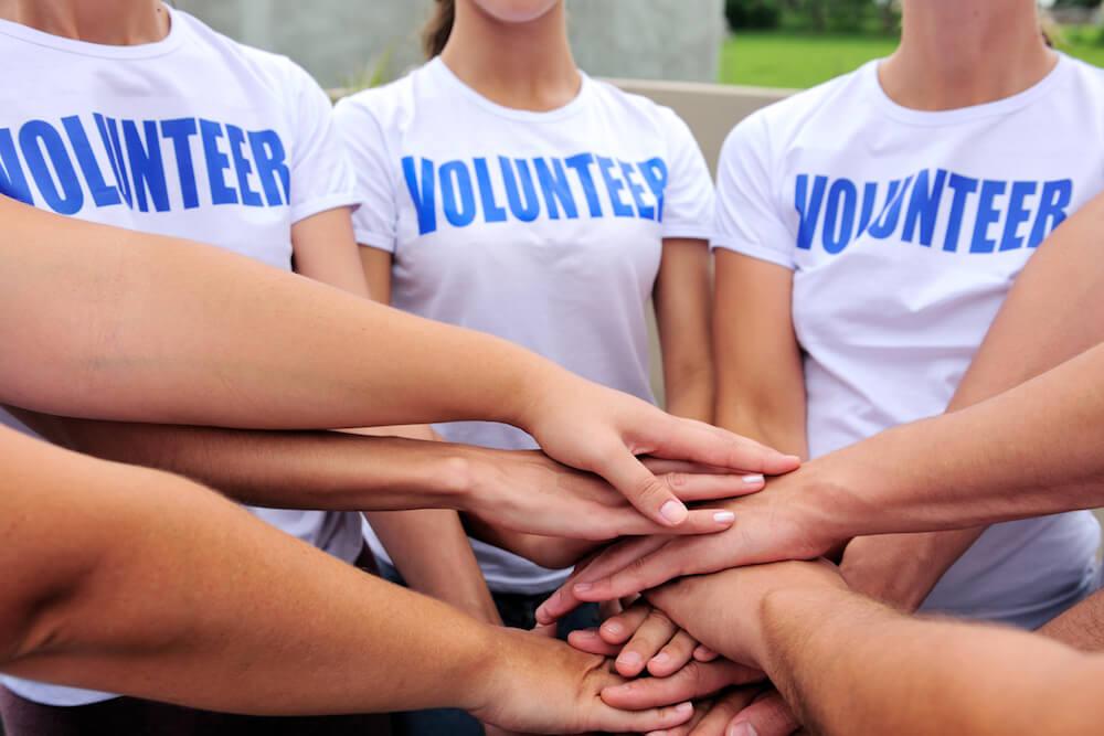 sucesso no voluntariado