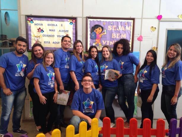 Voluntários da Ultragaz levam educação empreendedora a alunos do Rio de Janeiro. Fonte: http://www.jabrasil.org.br