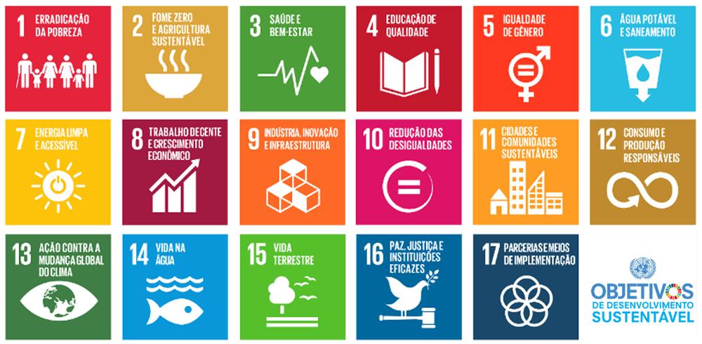 17 objetivos de desenvolvimento sustentavel