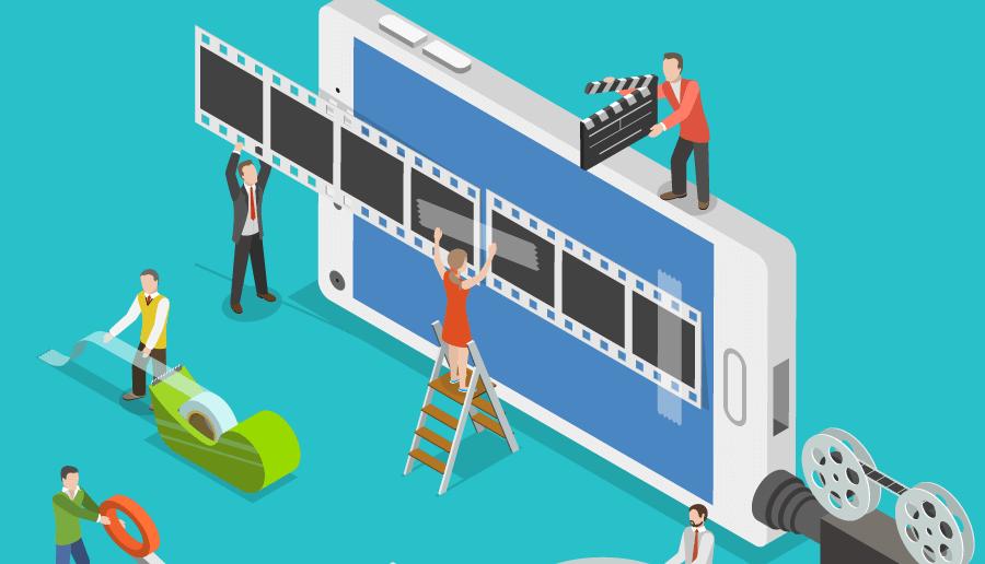 O vídeo é considerado o formato de conteúdo que mais mobiliza pessoas - mais do que foto ou texto!